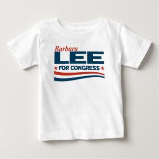 Camiseta Para Bebê Barbara Lee