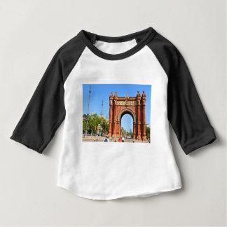 Camiseta Para Bebê Barcelona