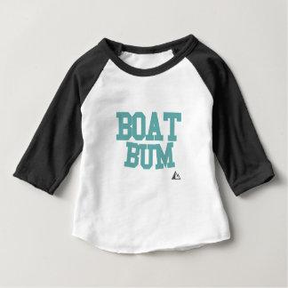Camiseta Para Bebê Barco-Cerceta