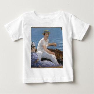 Camiseta Para Bebê Barco - Édouard Manet