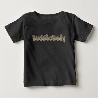 Camiseta Para Bebê Barriga de Buddha