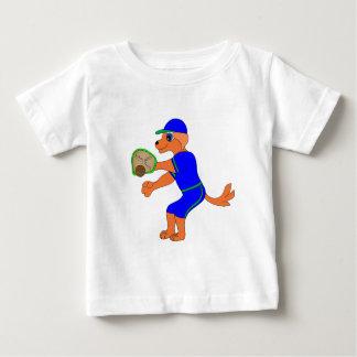 Camiseta Para Bebê Basebol feliz pelos Feliz Juul Empresa
