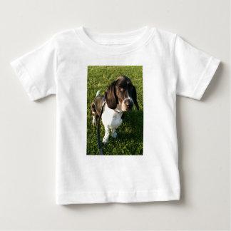 Camiseta Para Bebê Basset Hound adorável Snoopy