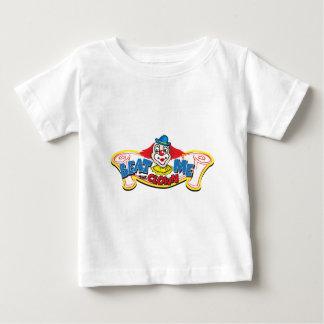 Camiseta Para Bebê Bata-me o palhaço