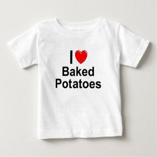 Camiseta Para Bebê Batatas cozidas