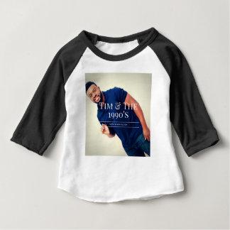 Camiseta Para Bebê Baterista de Tim