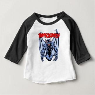 Camiseta Para Bebê Batsquatch
