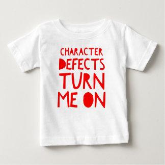 Camiseta Para Bebê Bebado sóbrio da recuperação dos defeitos de