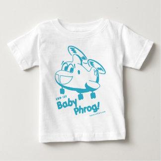 Camiseta Para Bebê Bebê azul Phrog