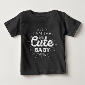 Camiseta Para Bebê Bebê bonito (casal da mamã e do bebê)