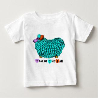 Camiseta Para Bebê Bebê chinês T do zodíaco do ano novo da ram