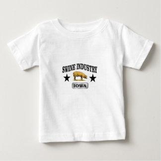 Camiseta Para Bebê bebê da indústria dos suínos