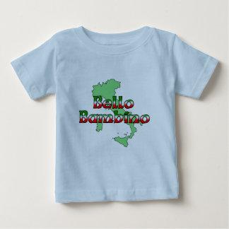 Camiseta Para Bebê Bebê de Bello (bebé italiano bonito)