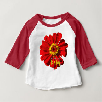Camiseta Para Bebê Bebê de NiCK DAViD - T de flower power