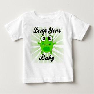 Camiseta Para Bebê Bebê do ano de pulo, t-shirt bonito do bebê do