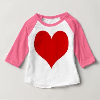 Camiseta Para Bebê bebê do coração