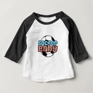 Camiseta Para Bebê Bebê do futebol