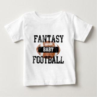 Camiseta Para Bebê Bebê do futebol da fantasia