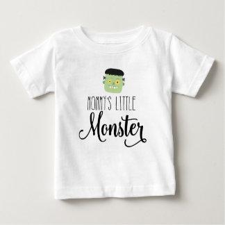 Camiseta Para Bebê Bebê do monstro da mamã e T pequenos do Dia das