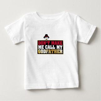 Camiseta Para Bebê Bebê do padrinho