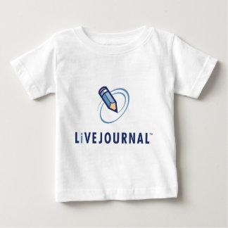 Camiseta Para Bebê Bebê e criança (vertical do logotipo)