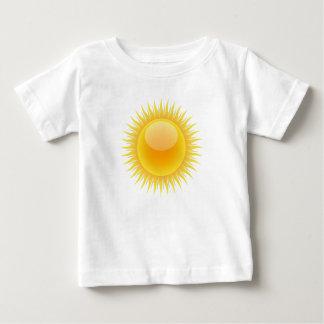 Camiseta Para Bebê Bebê ensolarado
