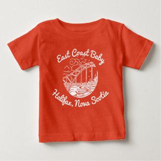 Camiseta Para Bebê Bebê Halifax Nova Escócia Canadá da costa leste