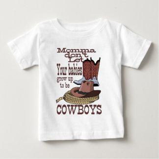 Camiseta Para Bebê bebês do vaqueiro do atv de Sony