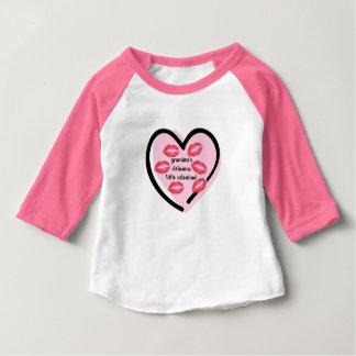 Camiseta Para Bebê Beijos dos namorados da avó