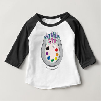 Camiseta Para Bebê Belas artes do caminhante de Lee