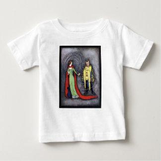 Camiseta Para Bebê Beleza clássica e o animal