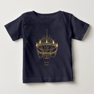 Camiseta Para Bebê Beleza e o candelabro do animal | - seja nosso