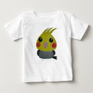 Camiseta Para Bebê Belle do オカメインコオウム, o cockatiel, design original