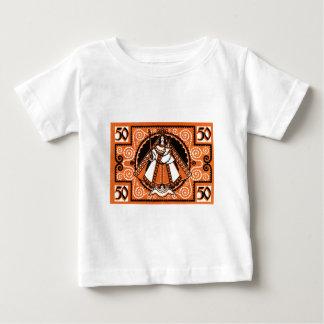 Camiseta Para Bebê Benevolência 1921 da cédula de Kevelaer Notgeld