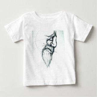 Camiseta Para Bebê berço dos gatos do Lao-tzu'; s