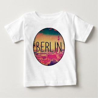 Camiseta Para Bebê Berlin, circle