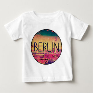 Camiseta Para Bebê Berlin, Love This City series, circle