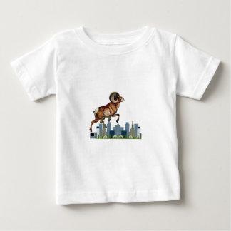 Camiseta Para Bebê Beware a ram