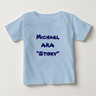 Camiseta Para Bebê Beware do T da fralda
