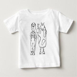 Camiseta Para Bebê Bíblia orgânica aumentada melhor da jardinagem