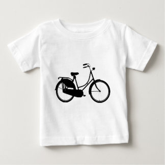 Camiseta Para Bebê Bicicleta holandesa - cores claras