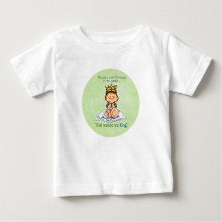 Camiseta Para Bebê Big brother - rei da princesa