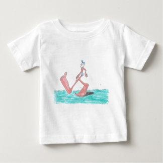 """Camiseta Para Bebê Bigfoot """"grande"""""""