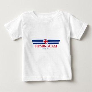 Camiseta Para Bebê Birmingham