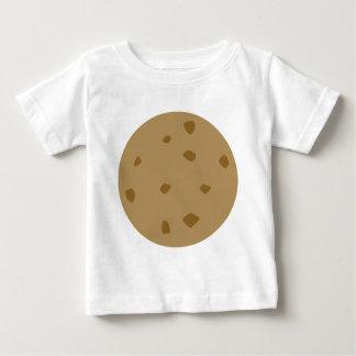 Camiseta Para Bebê Biscoito dos pedaços de chocolate