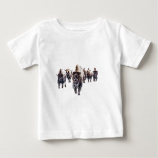 Camiseta Para Bebê Bisonte março