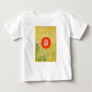 Camiseta Para Bebê Bitcoin