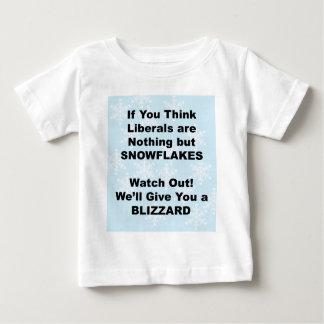 Camiseta Para Bebê Blizzard liberal