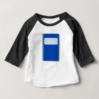 Camiseta Para Bebê Bloco de notas