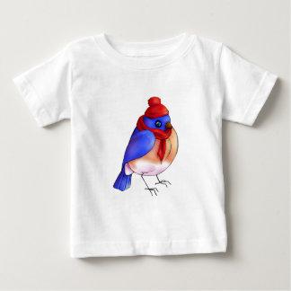 Camiseta Para Bebê Bluebird do inverno